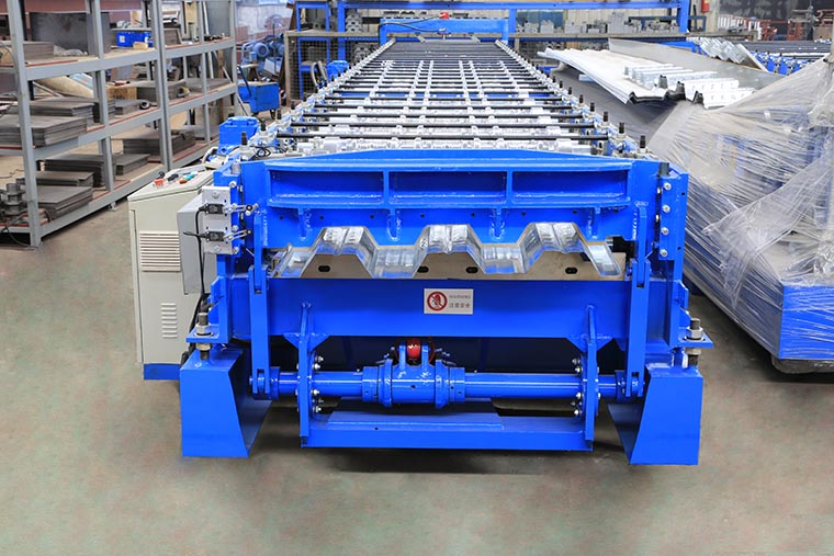 Floor Decking Roll Forming Machine
